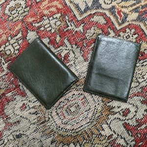 VTG Pair of Prince Gardner Leather Billfolds
